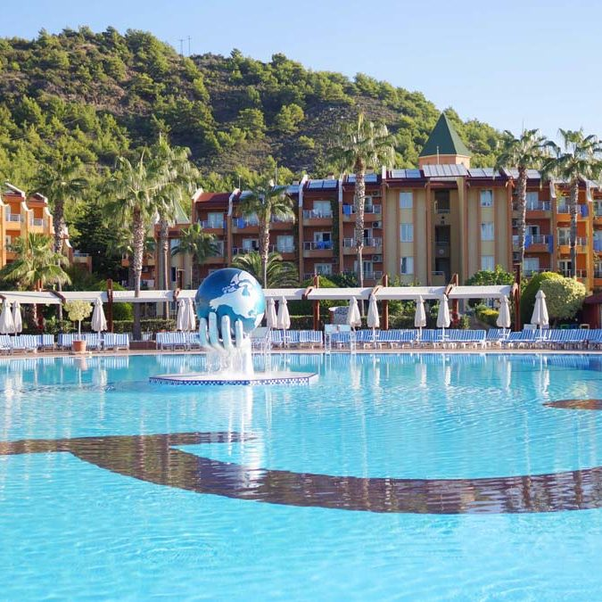 TUI Nordic's Blue Village Pascha Bay, Turkey.